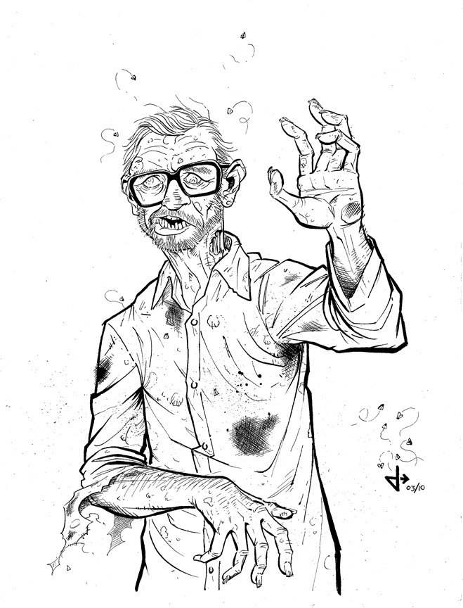Example of a $60 reward. George Romero, Zombified! Get yourself Zombified!