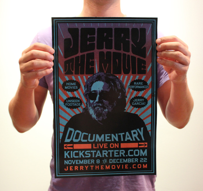 Jerry: The Movie - Kickstarter Poster 11' x 17'