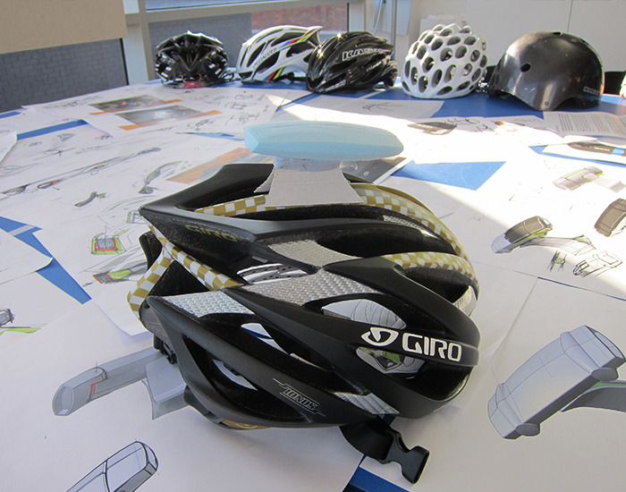 Spectacam a dual video sports helmet cam with wifi by for Outerspace design group