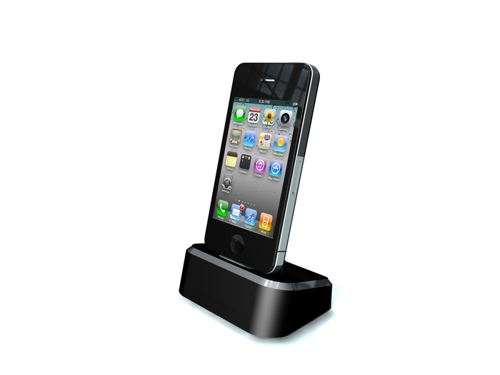 ONE{DOCK}-PLUS for cell phones and tablets (CAD image only)