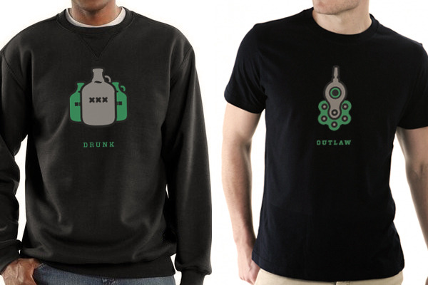 t-shirt or sweatshirt with your choice of symbol
