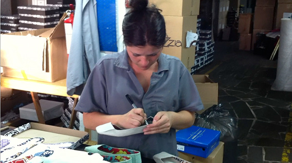 Every pair of shoes is signed by a worker from our factory!