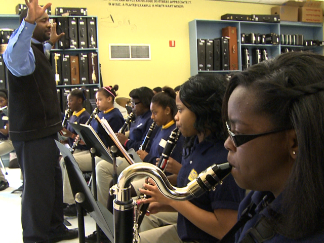 Music is an important learning tool for students in New Orleans.
