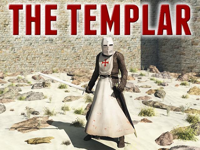 The Templar, a new epic novel