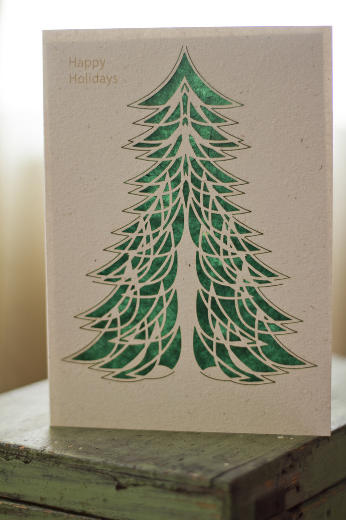 Christmas Tree 1 - Hemp Card