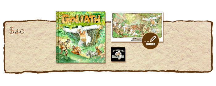 "KICKSTARTER EXCLUSIVE ""GOLIATH ARRIVES!"" VARIANT COVER EDITION"