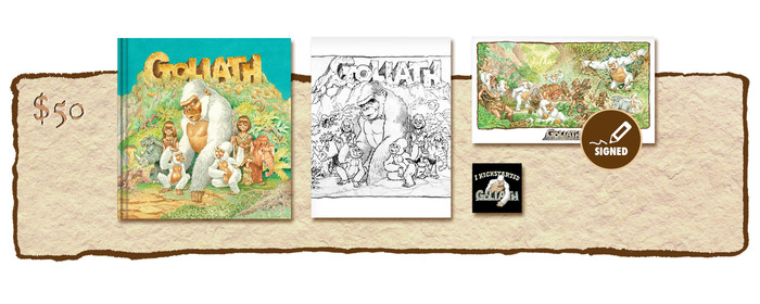 "KICKSTARTER ""PUBLISHER'S COVER"" EDITION PLUS SKETCHBOOK COVER #1"