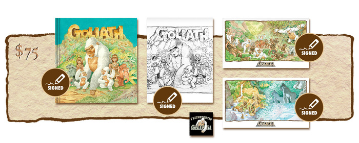 "SIGNED KICKSTARTER ""PUBLISHER'S COVER"" EDITION PLUS SIGNED SKETCHBOOK COVER #1"