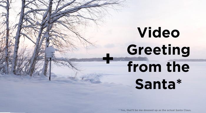 Wintery Finnish landscape