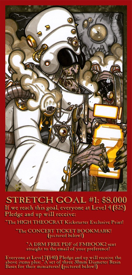 Kickstarter Limited Print #2 - The High Theocrat!
