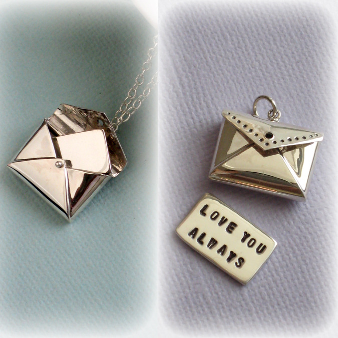 Love Letter Necklace - with custom message