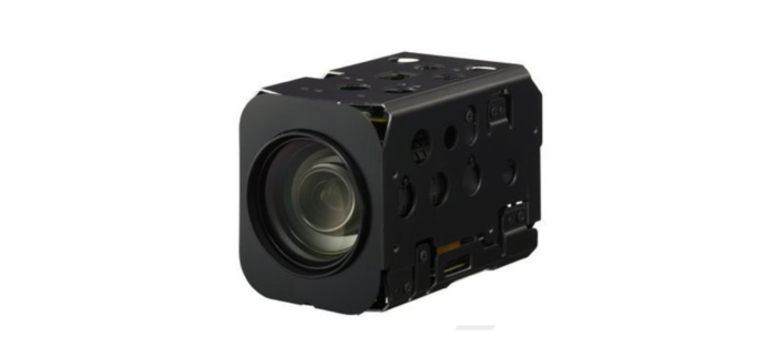 Sony HD Block camera with 20x optical zoom for up-close imaging