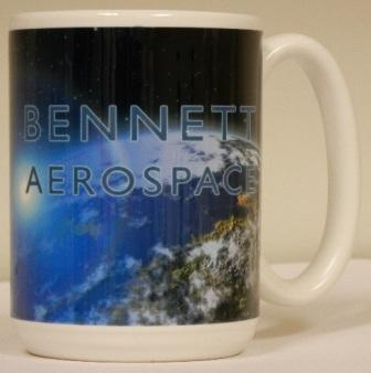 Limited Edition Bennett Aerospace Mug. MADE IN THE USA! LIMIT OF 100.