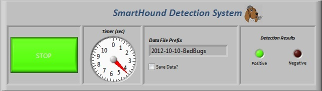 The Smart Hound™ program used to determine bed bug presence.