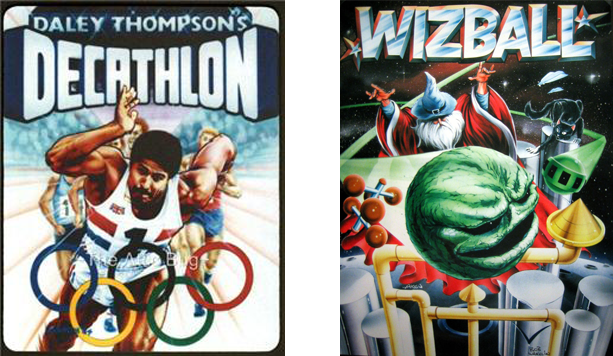 Bob Wakelin : Daley Thompson's Decathalon and Wizball