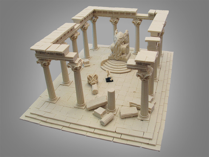 Large Temple of the Ancients - $235  (+$25 international shipping)