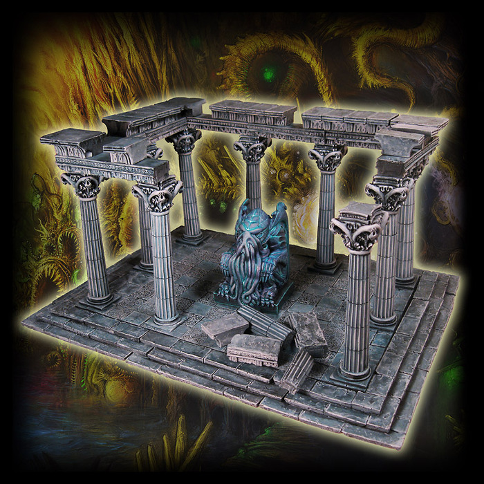 Temple of the Ancients - $150  (+$20 international shipping)