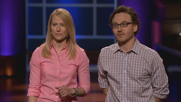 Dan & Liz on ABC's Shark Tank 9/28/2012