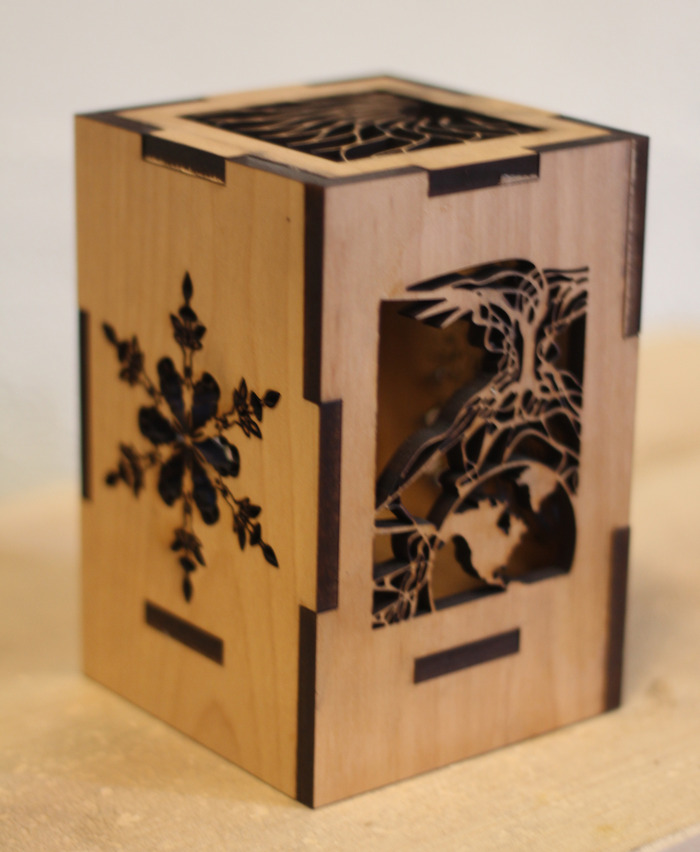 World Tree Lantern Side