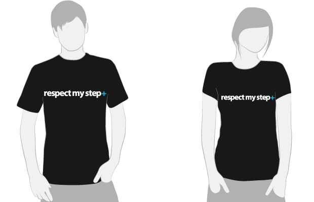 All the above + Respect My Step T-Shirt