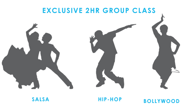 All the above + an exclusive 2hr group class in New York