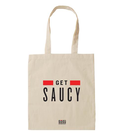 Get Saucy Tote Bag