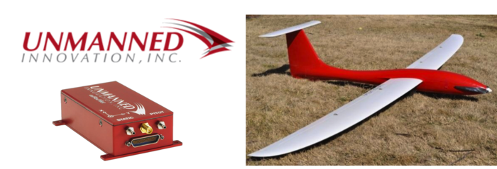 Unmanned Innovation Inc. will provide a customized drone using their proprietary autopilot system combined with a commercailly available plane developed for tornado research at the University of Colorado