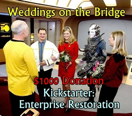 Weddings, Anniversaries, Renewed Vows on the Bridge $1000