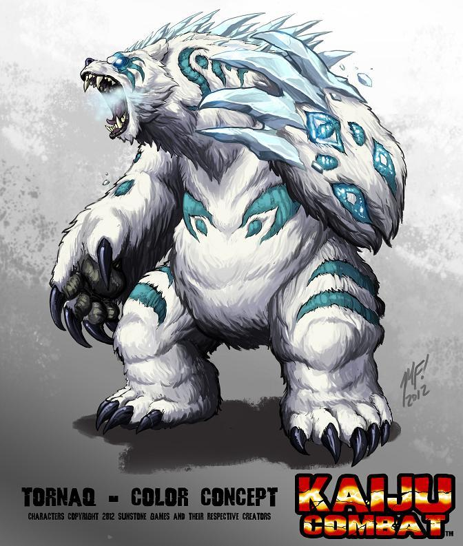 Tornaq - one of our original monster concepts (art by Matt Frank)