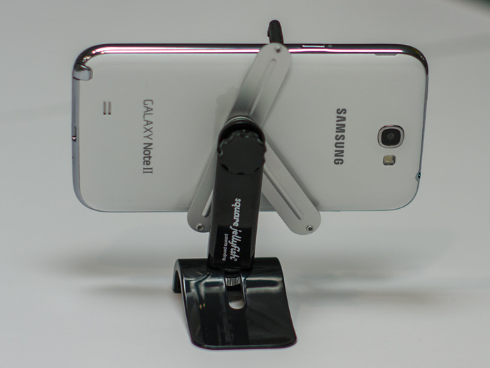 Tripod Mount and Pocket Tripod with Galaxy Note II - Please see update for more information.