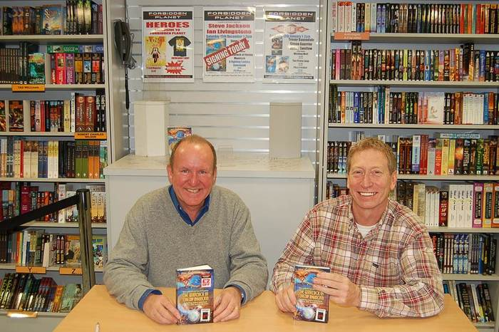 Ian Livingstone and Steve Jackson