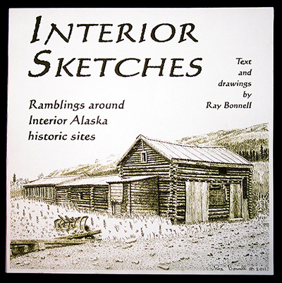 "129 page ""Interior Sketches"" book with over 50 historical drawings and essays, plus maps to locate sites"