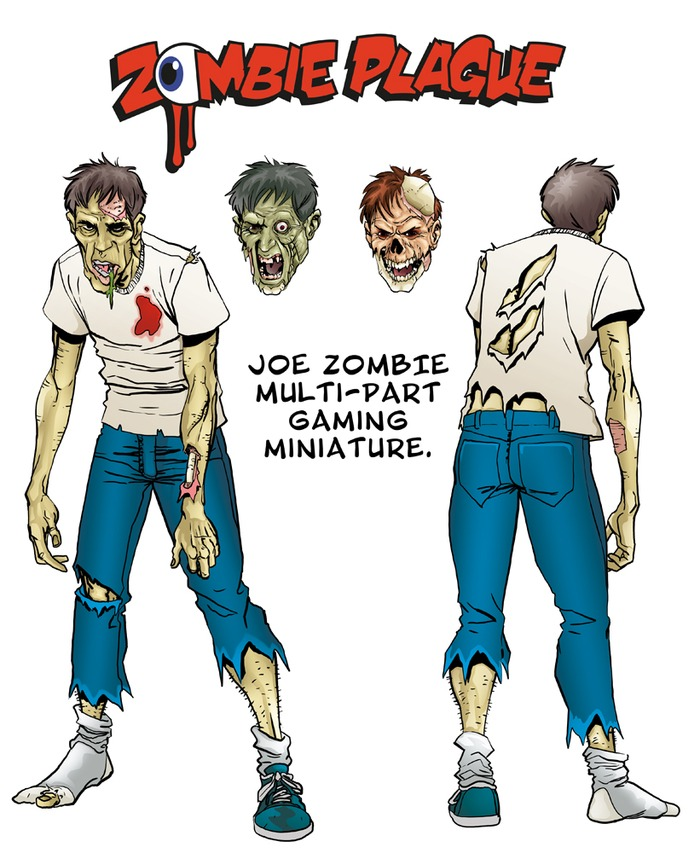 Joe will come with the three variant heads shown.