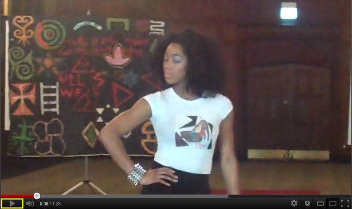 dope chic fashion show video on youtube.com