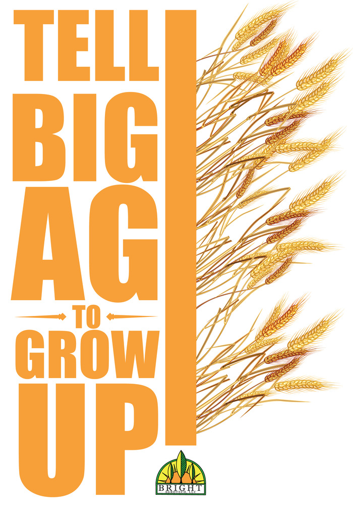 T-shirt/Decal option #2: Big Agriculture
