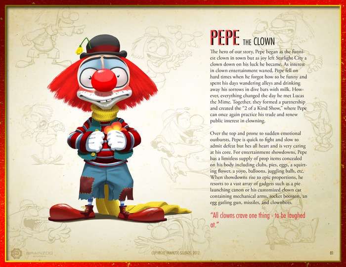 Pepe The Clown - Street Entertainer Extraordinaire
