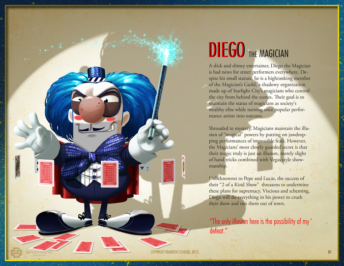 Diego The Magician - Our Nemesis