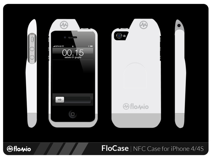 FloJack / FloCase - NFC Reader/Writers for iPhone and iPad