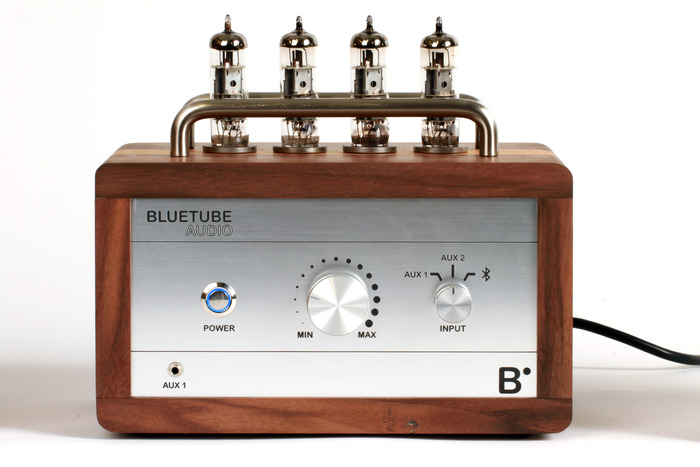 BlueTube Amplifier Front