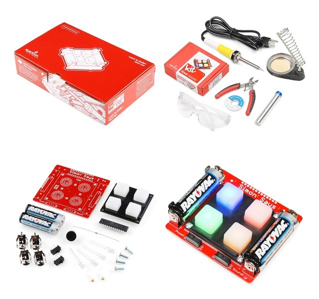 Learn to Solder: Simon Says Kit