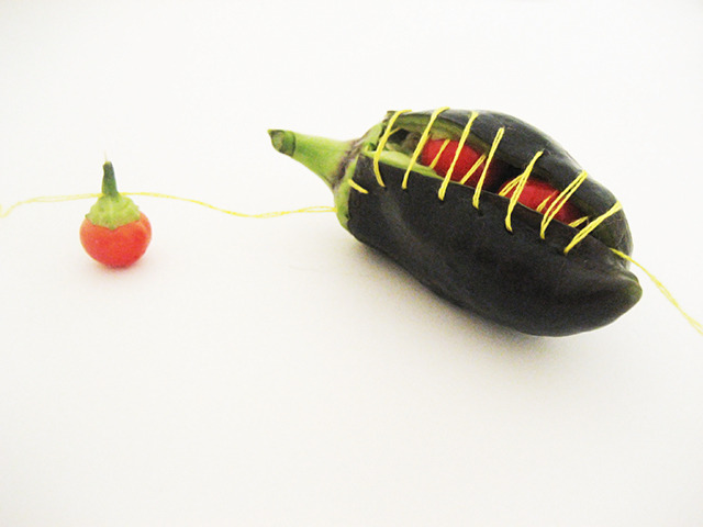 #47 - 10 of 10 left - Chocolate Bell and Turkish Eggplants No. 1