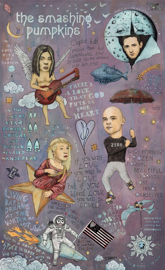 The Smashing Pumpkins - Spaceboy's Mellon Collie Dream