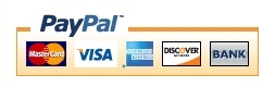Secure transactions provided by PayPal