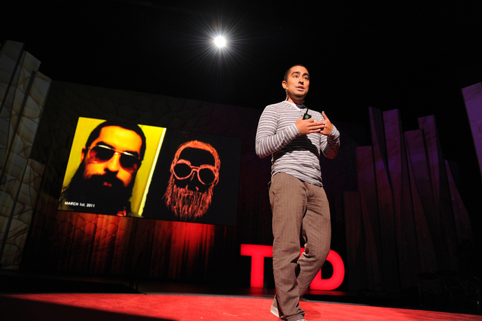 I gave a TED talk on this project at TED 2012!        Photo Credit: James Duncan Davidson