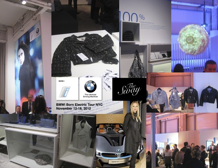 The Sway at BMWi Born Electric Car Tour NYC 12-18 Nov, 2012