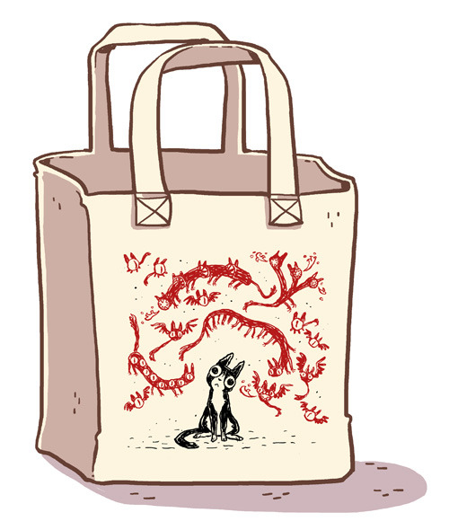 Exclusive Kickstarter tote: Cricket Demons