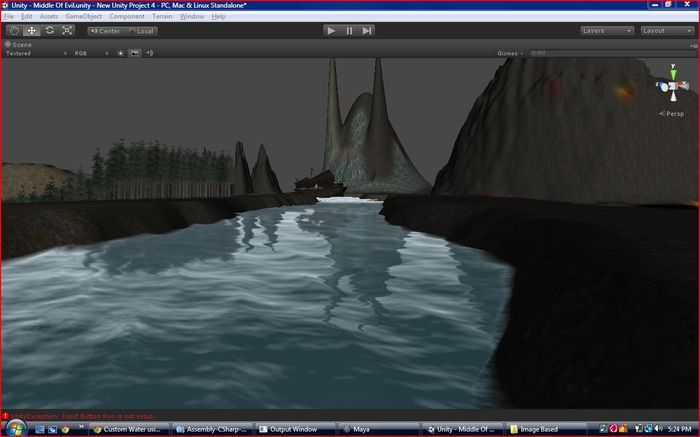 In Hades on the river Styx the in game scene is not done yet but im working hard on it some i can make this video lol trying to make the boat float but once this is done only a few things left.