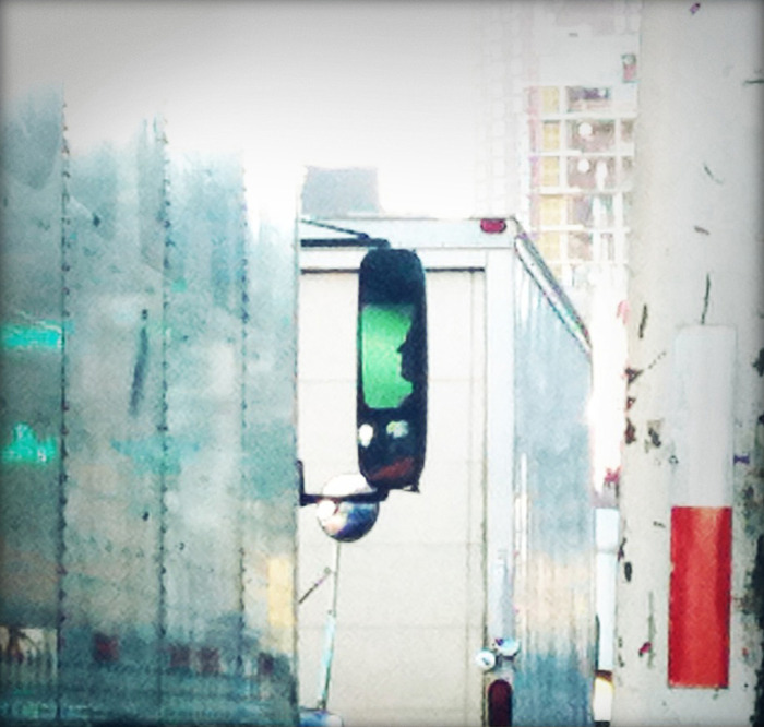 green driver, NYC, 2010