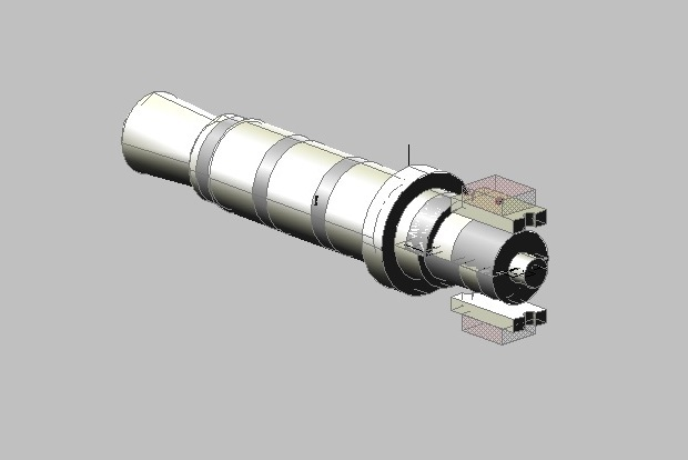 CAD model of the jack's head
