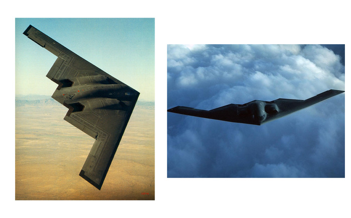 The Stealth B-2 Bomber